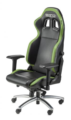 Office/Gamer Chair Sparco R-100 S Black/Green