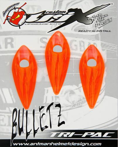BulletZ Ventil 3-Pack Orange