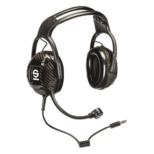 Intercomförstärkare Sparco IS-140 + 2 x Transport Headset NX Carbon