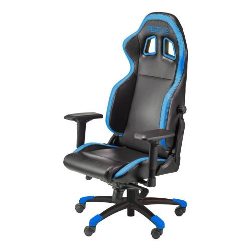 Gaming Seat Sparco Grip Black/Blue