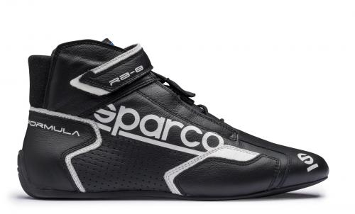 Sparco Racing Shoes  Formula RB-8.1 FIA+ SFI Black/White