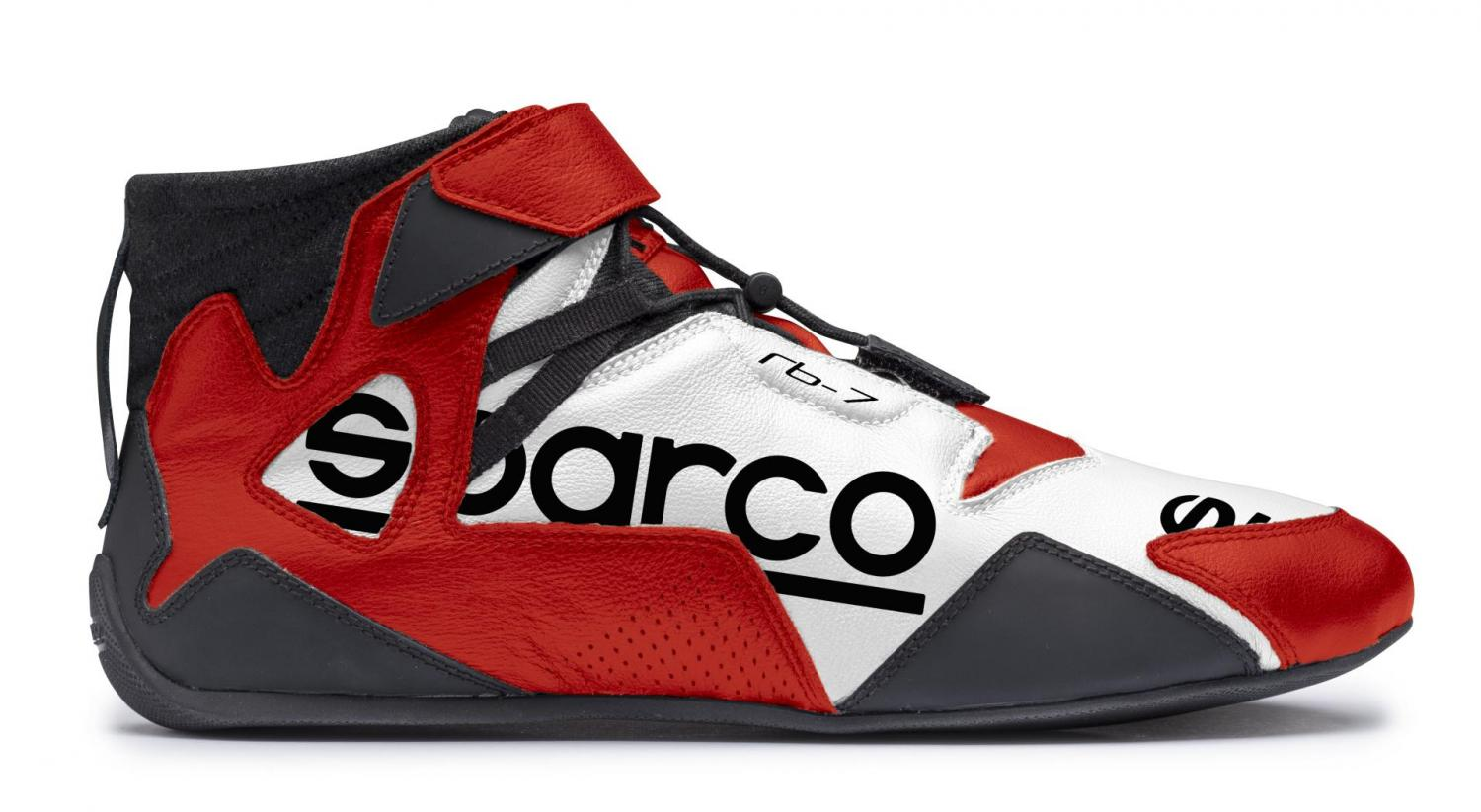 Sparco Racing Shoes  Apex RB-8.1 FIA + SFI White/Red