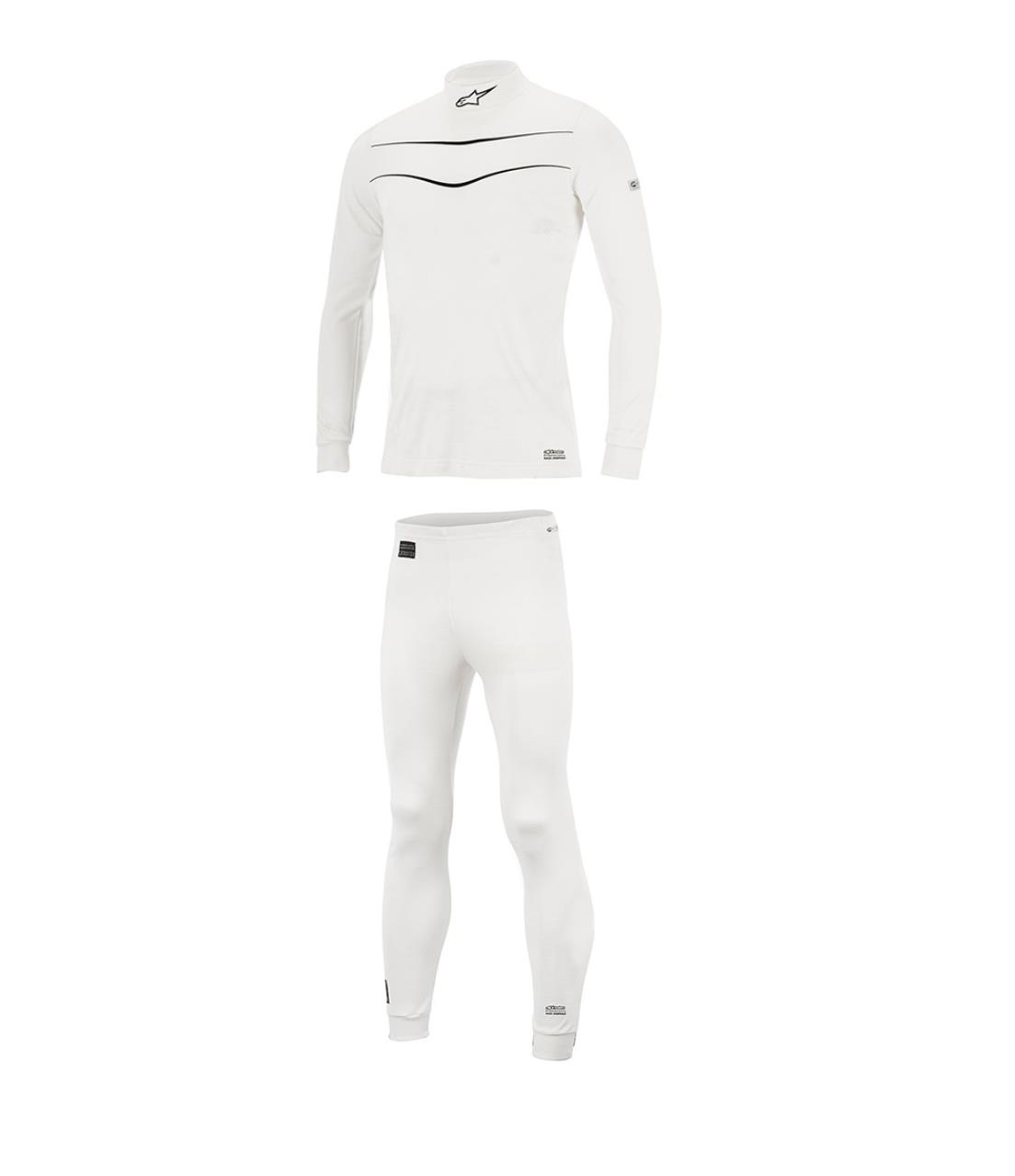 Race Underwear Package White