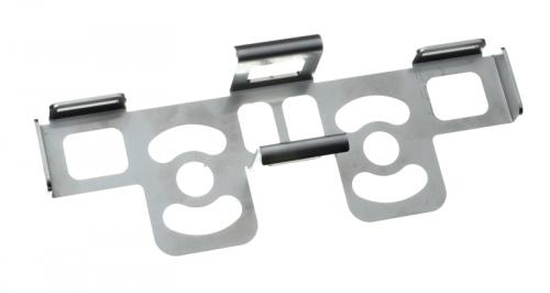 Battery support plate