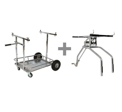 Kart Trolley with Aragon Lift Kit
