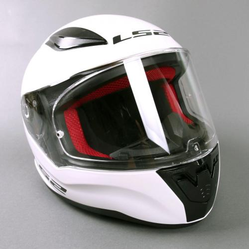 Junior Helmet LS2 FF353J White