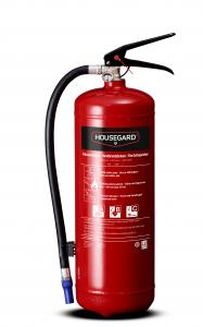 Fire extinguisher, Housegard 6 kg powder, red, PE6GEB 43A