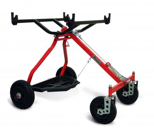 Kart Trolley Stone Evolution Lift Red