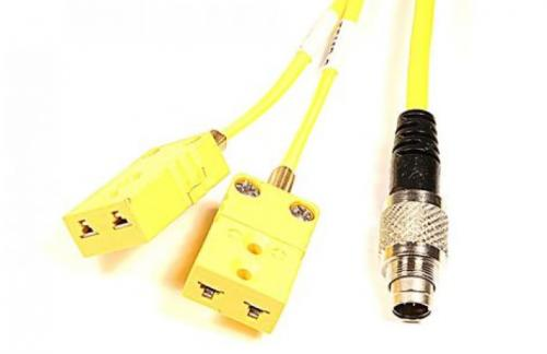 Temperature sensor cable AIM Yellow/yellow for My5 2T