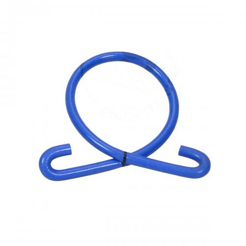 Cooling hose Silicone 180° 1200mm Blue