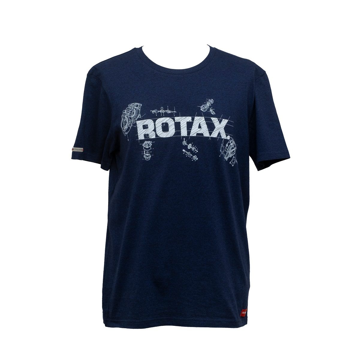 T-Shirt Rotax Blueprint