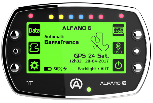 Alfano 6 Datalogger 1T Light