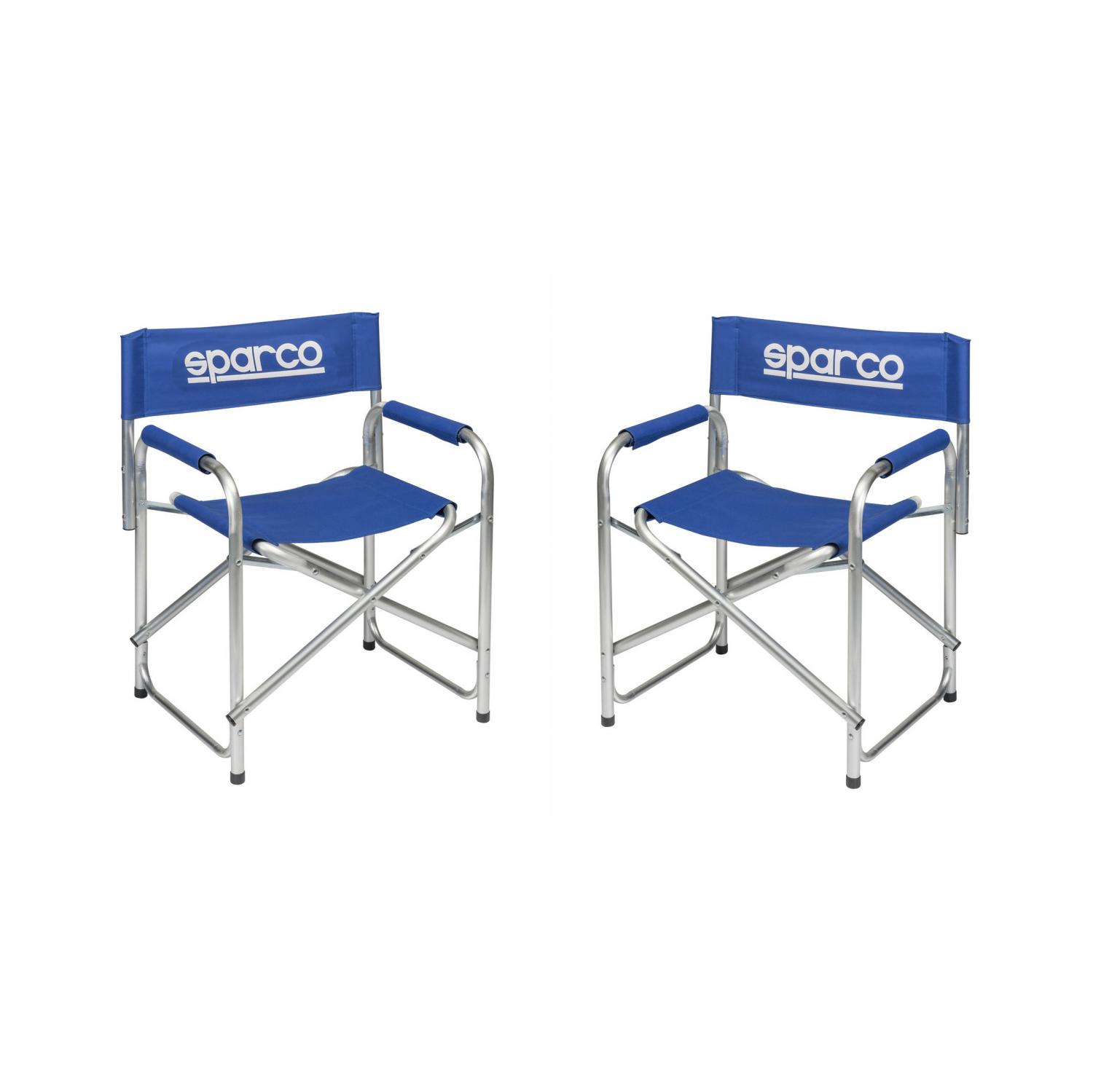 Sparco Directors Chairs  2-pac deal