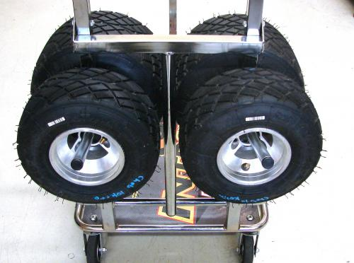 Tyre Holders for Standard Karting Trolleys (2 pc)
