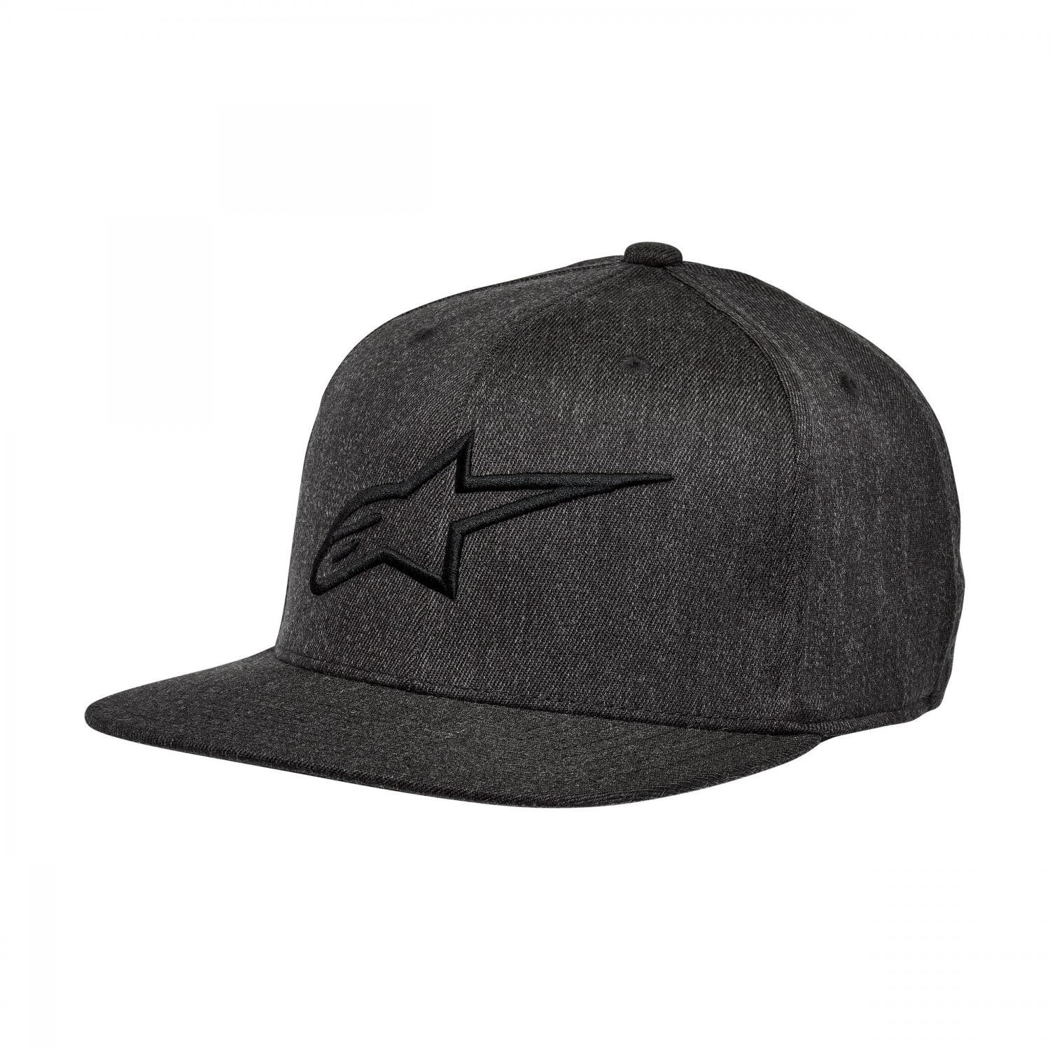 Keps Ageless Flat Hat Charcoal S/M