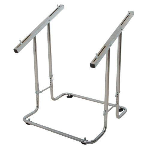 Angled Kart Stand for exhibitions