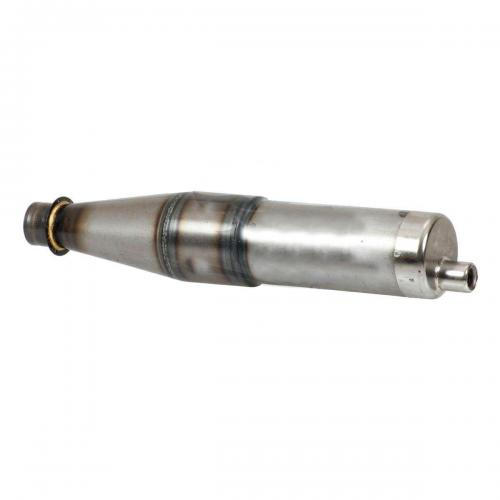 Muffler Exhaust for 100cc Engines, 110/100 47,5 Cone, 0,6 mm