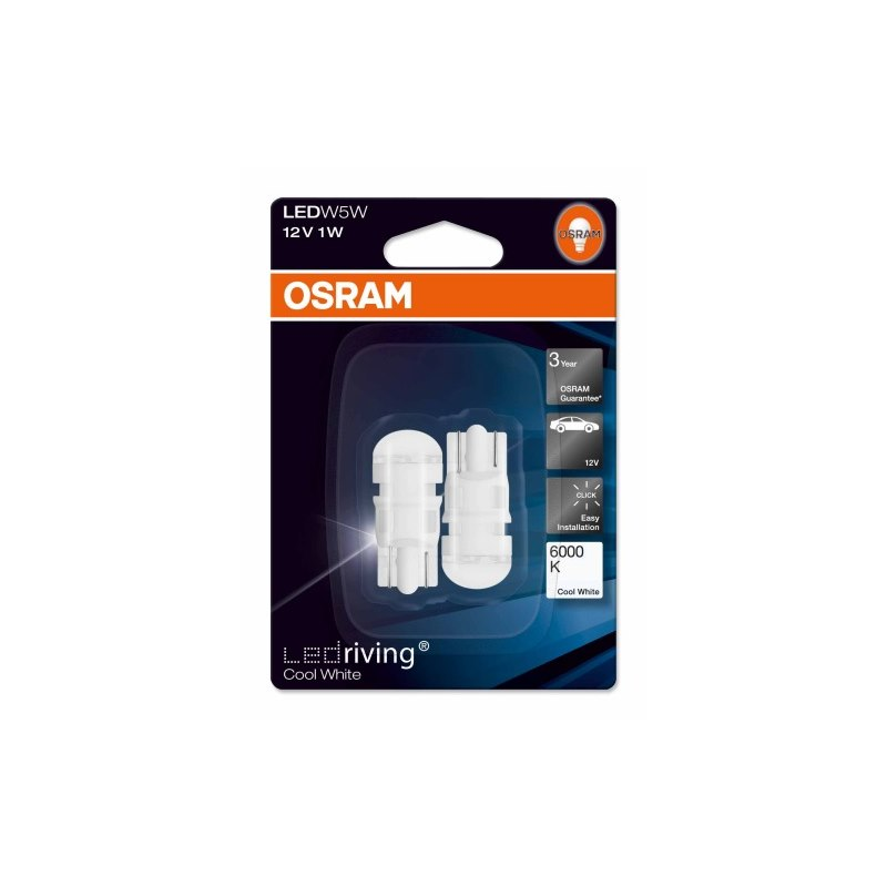 Osram LEDriving Standard W5W T10 2-pack (Cool White)