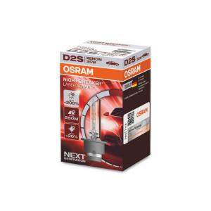 D2S 35W Osram Night Breaker Laser Xenarc 1-pack 12-24V