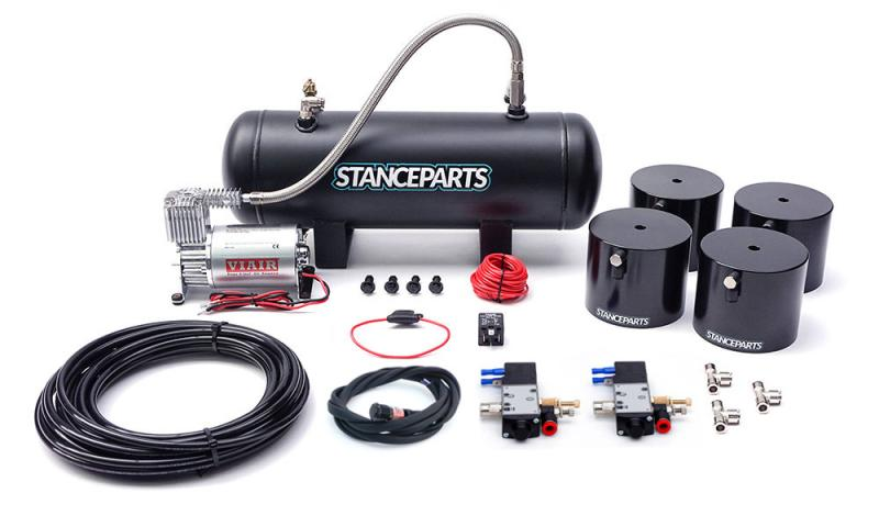 Stanceparts Air Cups Luftsystem kit fram och bak