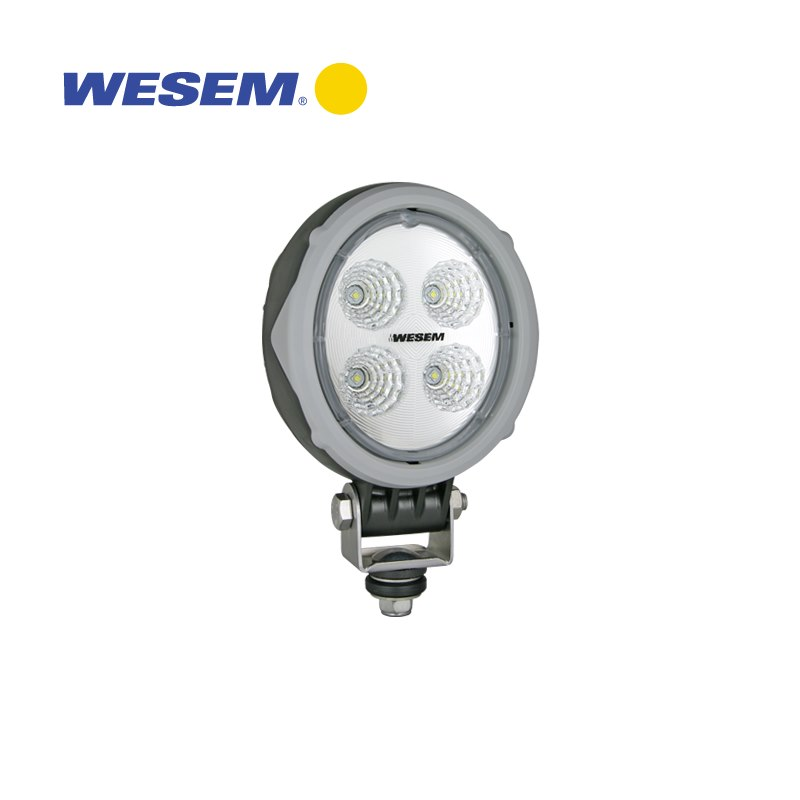 Wesem CRV2 Wide Flood LED Arbetsljus 1500 lm Rund
