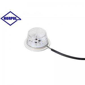 HORPOL Optimal LED Positionsljus Ø71mm (Vitt ljus)