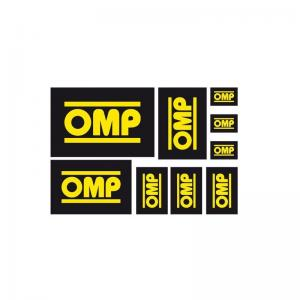 Kit med 9 st OMP Stickers / Dekaler