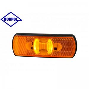 HORPOL LED Sidomarkeringsljus 122x44mm (Orange ljus)