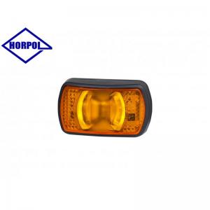 HORPOL LED Sidomarkeringsljus 71x42mm (Orange ljus)