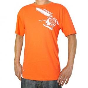Mishimoto T-shirt med Tempmätare motiv, Orange XL