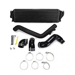 Mishimoto Honda Civic Type R Prestanda Intercooler Kit, 2017+, Svart Intercooler, Svarta Rör