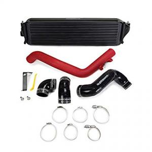 Mishimoto Honda Civic Type R Prestanda Intercooler Kit, 2017+, Svart Intercooler, Röda rör