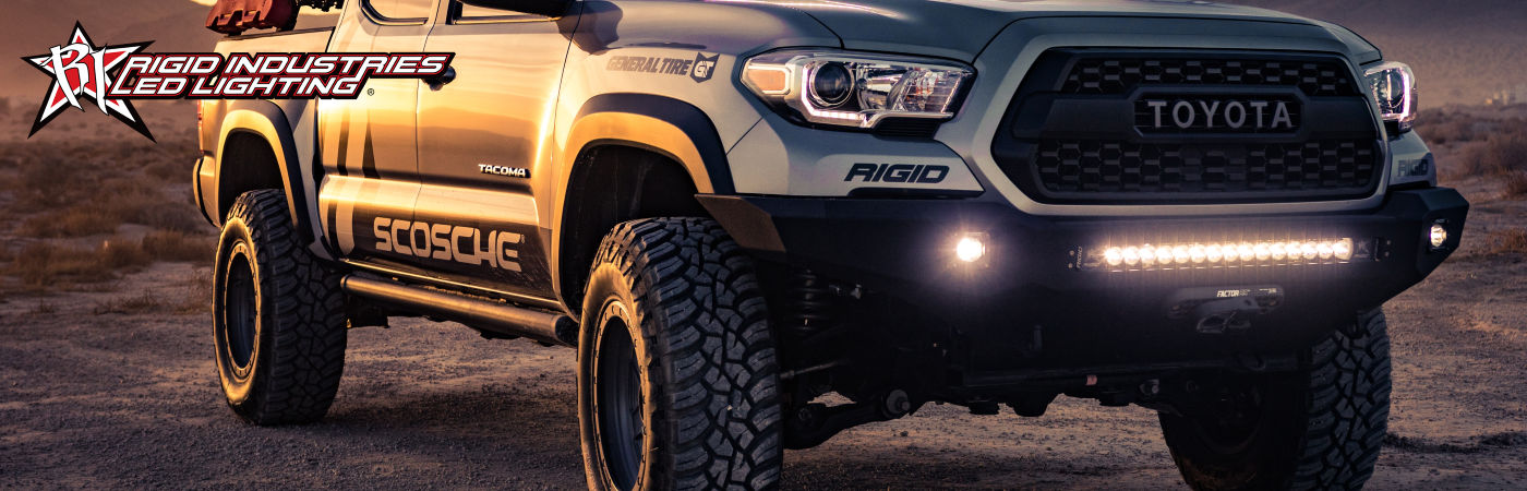Rigid Industries LED Extraljusramp Toyota Pickup
