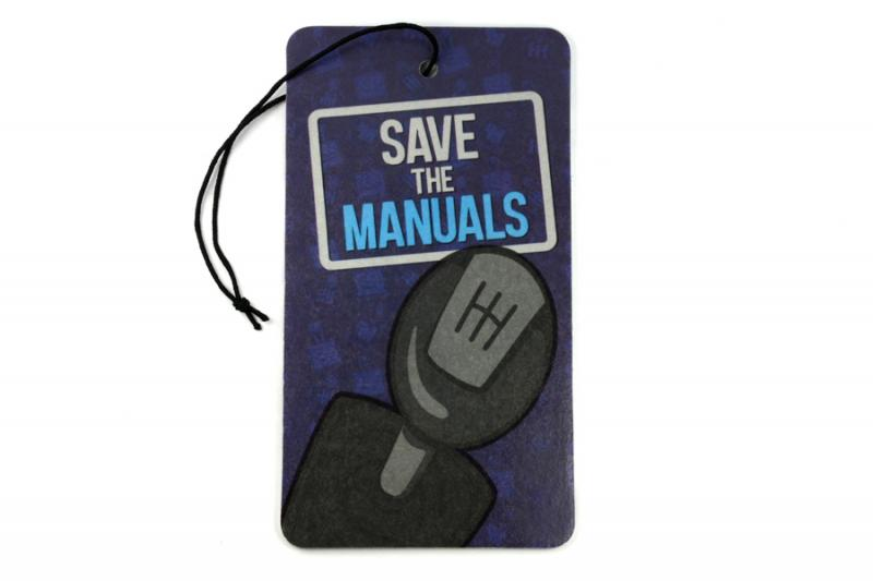 Luftfräschare Växelspak - Save the Manuals