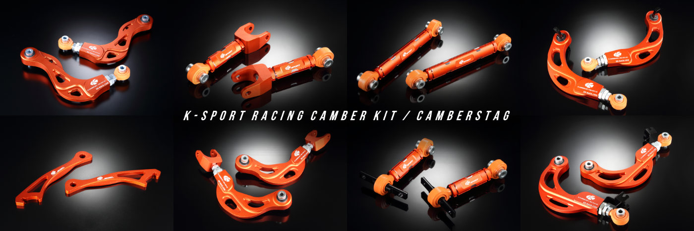 K-sport Racing Camber Kit Camberstag Banner