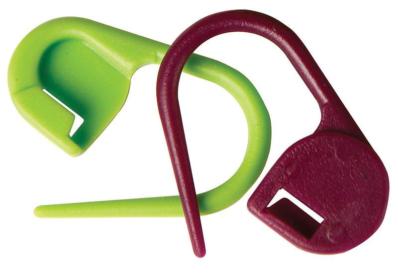 Låsbara Stickmarkörer KnitPro