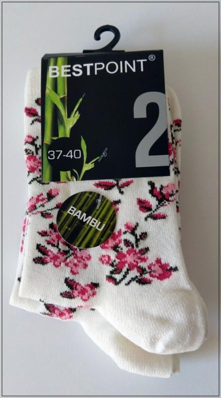 Ladies sock - Bambo pattern