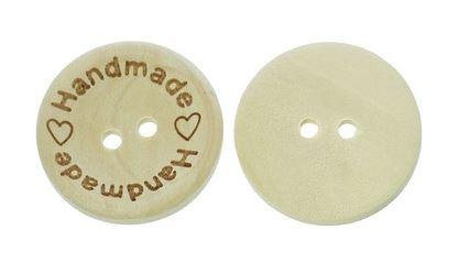 Handmade knapp