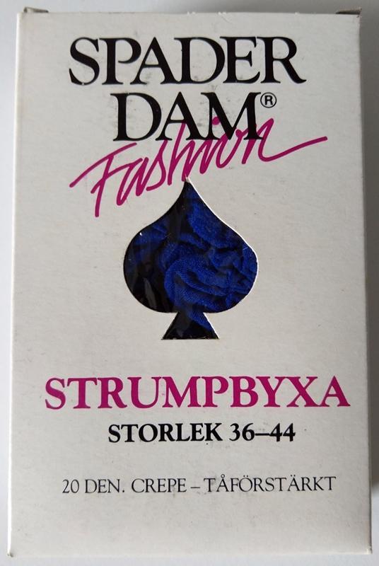 Spader Dam Strumpbyxa