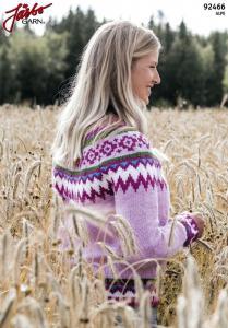 Bubbelgum - långärmad tröja med mönsterok