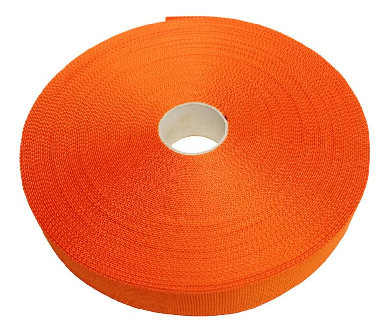 Polyesterband Orange 40 mm