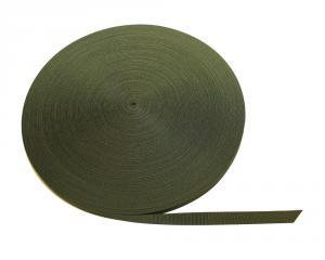 Polyesterband Militärgrön 20 mm