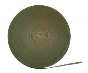 Polyesterband Militärgrön 10 mm