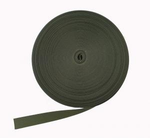 Polyesterband Militärgrön 25 mm