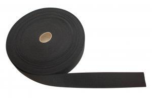 Polyesterband Svart 50 mm