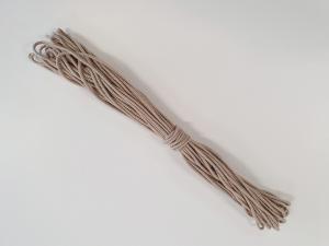 Snöre Bomull Khaki 3 mm 20 Meter