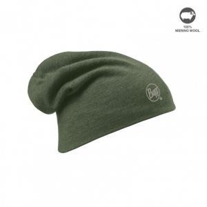 Buff Thermal Hat Merinoull Olivgrön