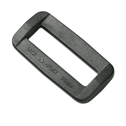 Duraflex Common Loop Fyrkantsring 25 mm 4 Pack