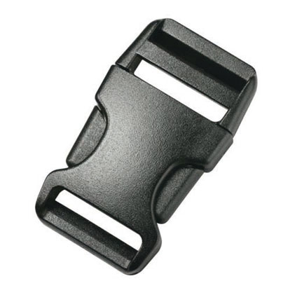 Duraflex Anti-Break Stealth Buckle 25 mm 2 Pack