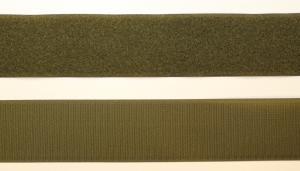 Kardborreband Militärgrön 100 mm